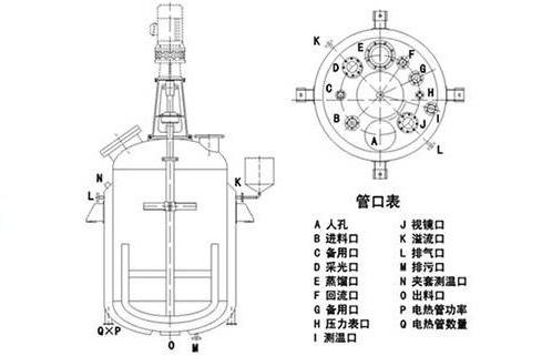 反应釜结构图